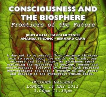 Consciousness and the Biosphere: Frontiers of the Future Colloquium Summary