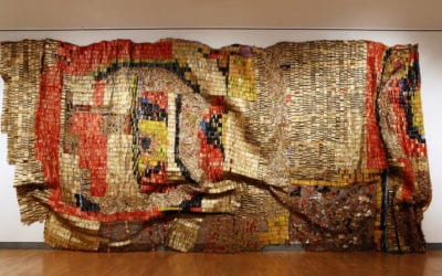 October Gallery's El Anatsui Featured in New York Times